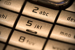 телефон кнопочной панели Стоковая Фотография RF