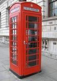 телефон красного цвета london коробки Стоковые Фотографии RF
