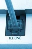телефон макроса кабеля Стоковая Фотография