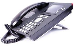 телефон офиса ip lcd Стоковое Изображение
