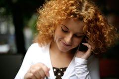 телефон переговора клетки Стоковое Фото