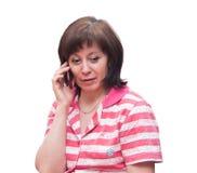 телефон переговора Стоковое Фото