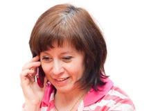 телефон переговора Стоковое фото RF