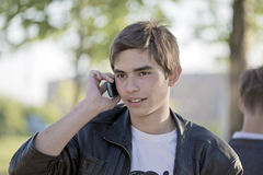 телефон переговора Стоковые Фото