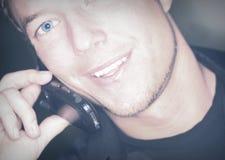 телефон потехи клетки стоковое фото