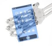 Телефон принципиальной схемы будущего Стоковые Изображения RF