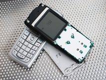 телефон ремонта mobil Стоковое фото RF
