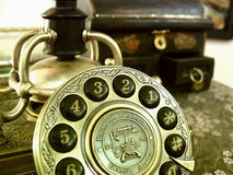 телефон ретро Стоковая Фотография RF