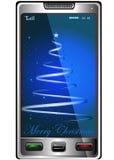 телефон рождества Стоковое Изображение RF
