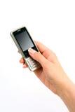 телефон руки Стоковые Изображения