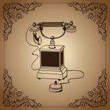 Телефон сбора винограда Стоковая Фотография RF