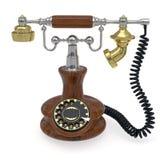 телефон старого типа иллюстрация вектора