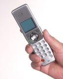 телефон удерживания руки Стоковое Изображение RF