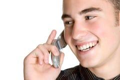 телефон человека клетки стоковые фото