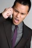 телефон человека Стоковая Фотография RF