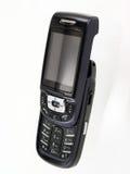 телефон черни открытый Стоковые Фотографии RF