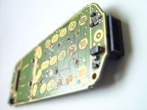 телефон черни открытый стоковая фотография