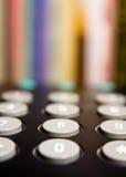 телефон чисел Стоковое Изображение