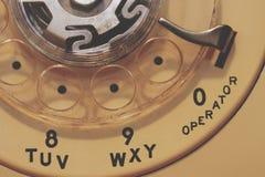 телефон шкалы старый Стоковая Фотография