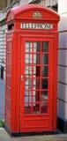 телефон british будочки Стоковая Фотография