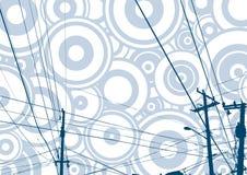 телефон conductions детальный Стоковое Изображение RF