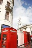 телефон london будочки Стоковая Фотография RF