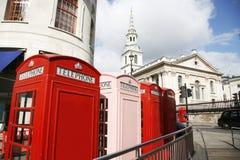 телефон london будочки Стоковое Изображение