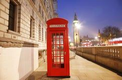 телефон london будочки ben большой Стоковые Изображения RF