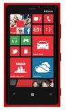 Телефон Lumia 920 Nokia умный Стоковые Фото