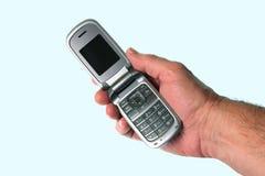 телефон moblie руки клетки Стоковая Фотография RF