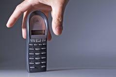 телефон piking вверх Стоковое Изображение RF