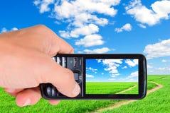 телефон s человека руки стоковые изображения