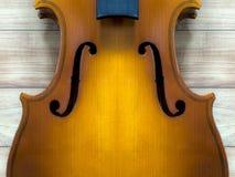 Тело и шея скрипки: предпосылка стоковые фотографии rf