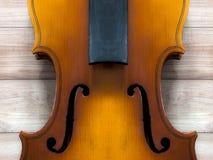 Тело и шея скрипки: предпосылка стоковые изображения