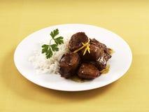 телятина saut меда померанцовая Стоковое Фото