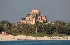 Тематический парк Aquaventure, Дубай Стоковая Фотография RF