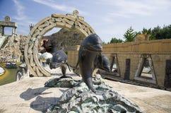 Тематический парк Gardaland Стоковая Фотография