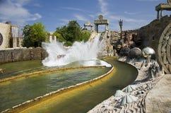 Тематический парк Gardaland Стоковое фото RF