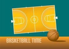 Тема баскетбола Стоковое Изображение