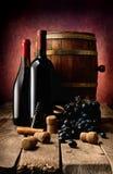 Тема вина в фото Стоковая Фотография RF
