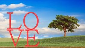 тема влюбленности и концепция валентинки Стоковое Изображение