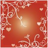 тема влюбленности Стоковые Фотографии RF