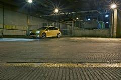 Тема гоночного автомобиля городская Стоковое фото RF