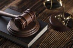 Тема дела и закона стоковые фотографии rf