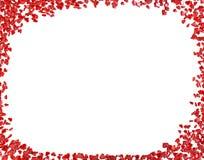 Тема дня валентинок предпосылки сердец стоковая фотография