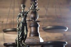 Тема закона и правосудия стоковая фотография rf