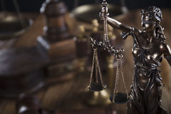 Тема закона Стоковые Изображения RF