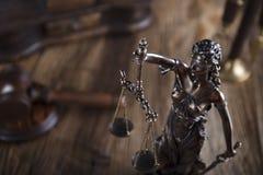 Тема закона Стоковое Изображение