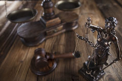Тема закона Стоковые Изображения