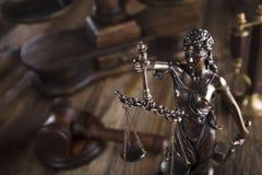 Тема закона Стоковая Фотография RF